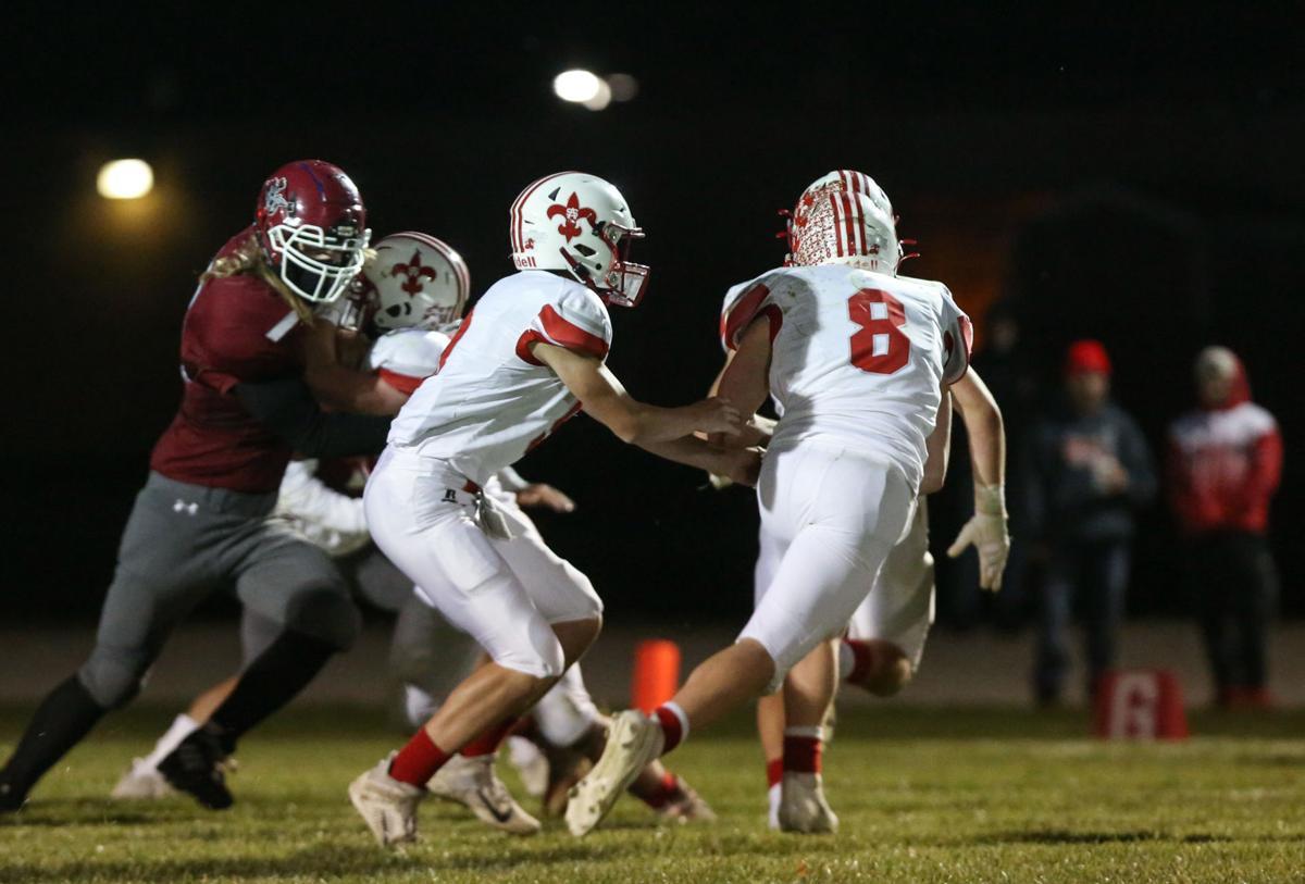 Newman Catholic football vs St. Ansgar- Horgen, Cole