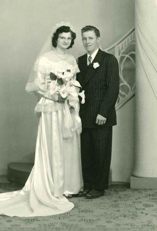 Allan and Frances (Ptacek) Doughan 1