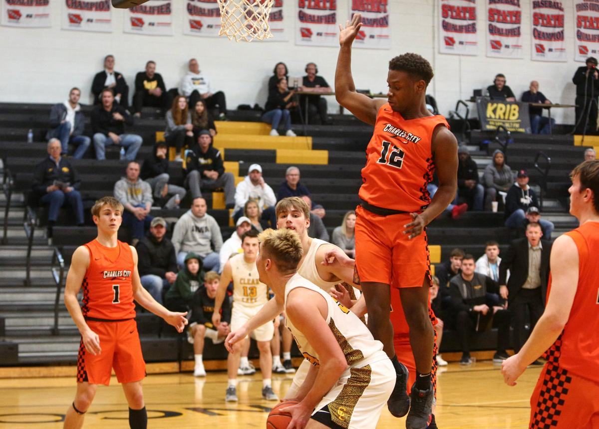 Clear Lake boys basketball vs Charles City - Cranshaw