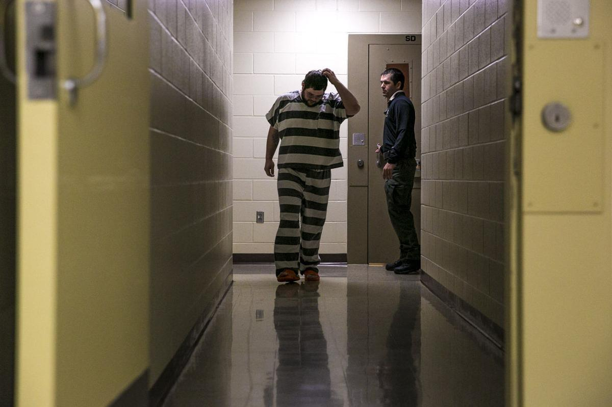 Under county care: Jail staff members say they take inmate