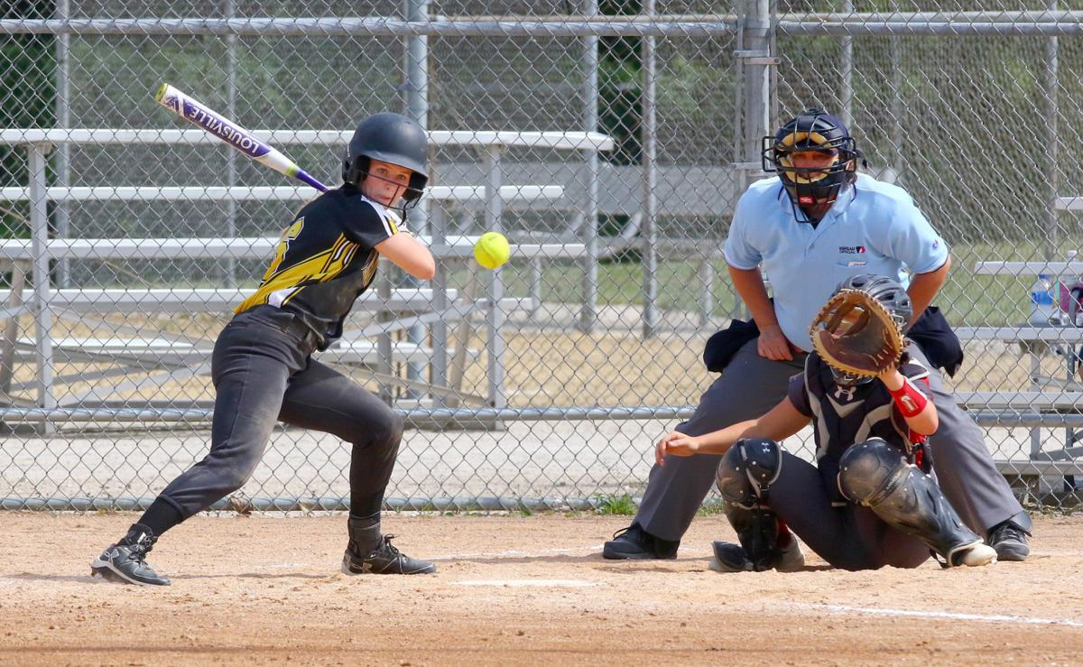 Clear Lake-Mikayla Vanderploeg batting