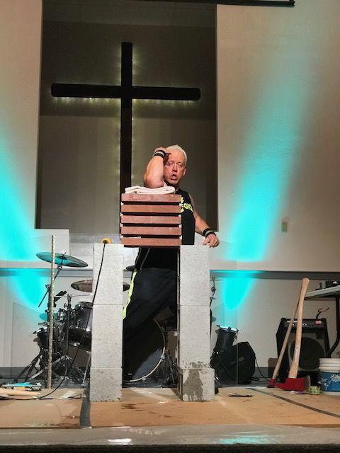 Steve Carrier - Mega Force Evangelistic Ministries