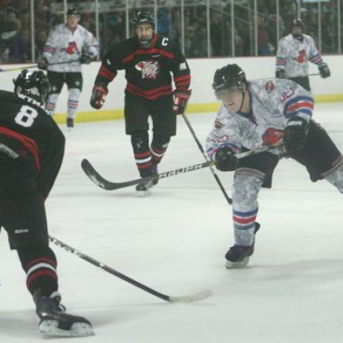 Kids Are Big Winners In Charity Hockey Game Mason City North Iowa Globegazette Com