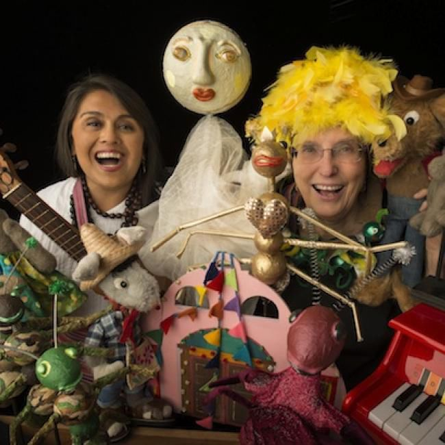 Fall puppet show