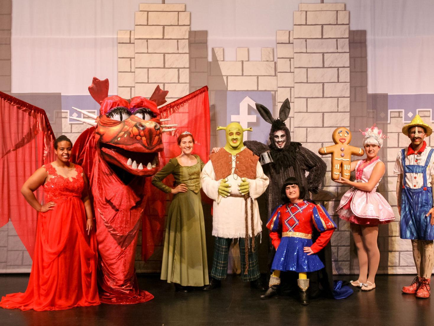 On Stage Shrek The Musical Local Entertainment Globegazette Com