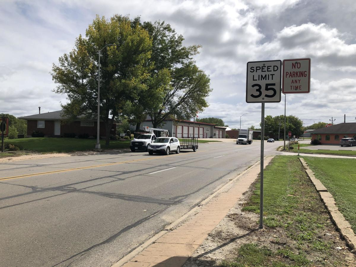 Charles City speed limit