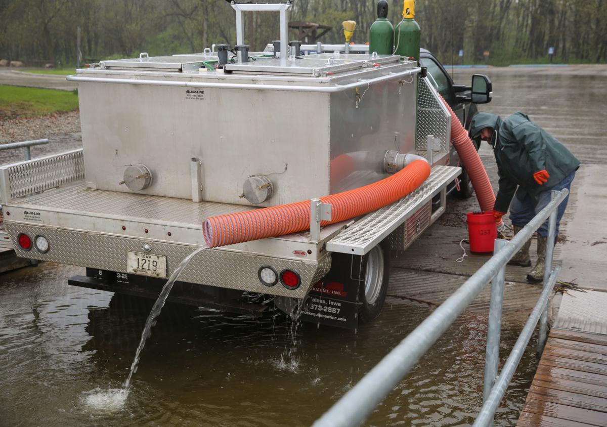 DNR stocks Clear Lake with walleye