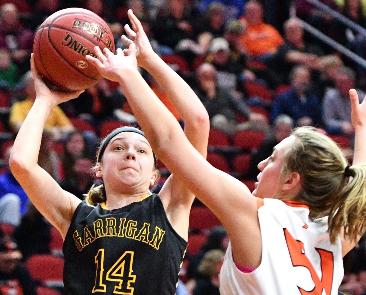 Bishop Garrigan vs Springville state basketball