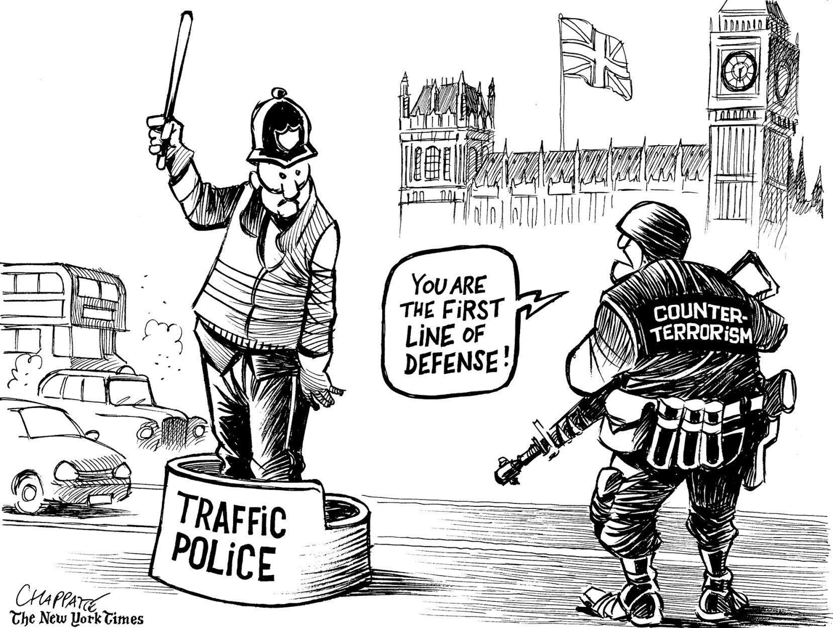 Political cartoons: Gorsuch, London, EU, health care