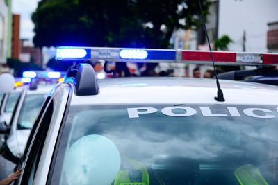 Cops weblogo - lights