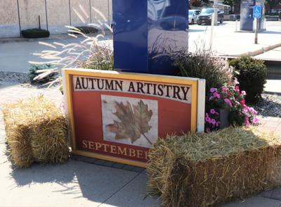 Autumn Artistry at Home Trust and Savings Bank