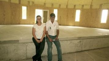 grain bin house a work in progress mason city north iowa globegazettecom