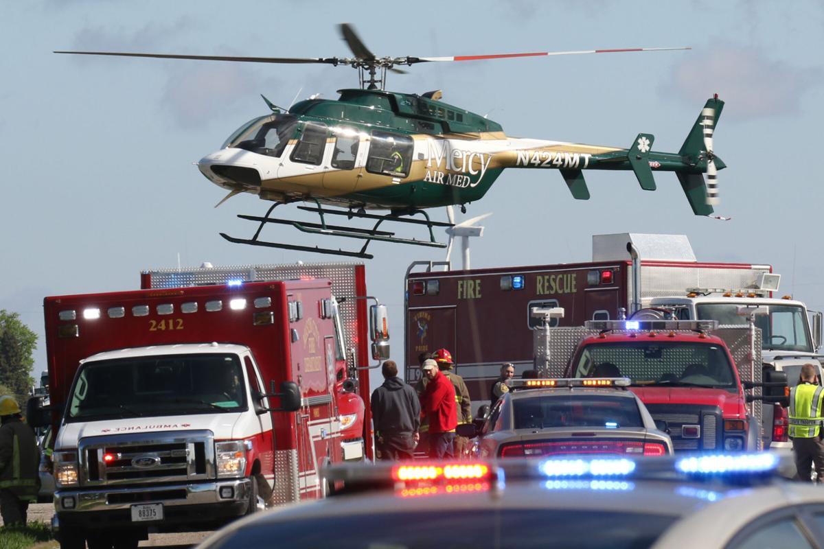 Mason City Car Crash