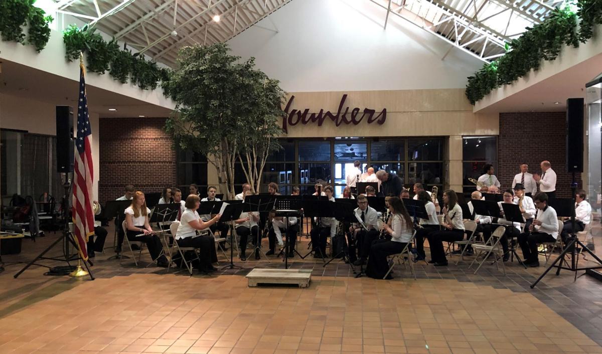 82nd North Iowa Band Festival: Night 1- Mason City Municipal Band at Southbridge Mall
