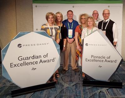 Iowa Specialty Hospitals & Clinics receives award