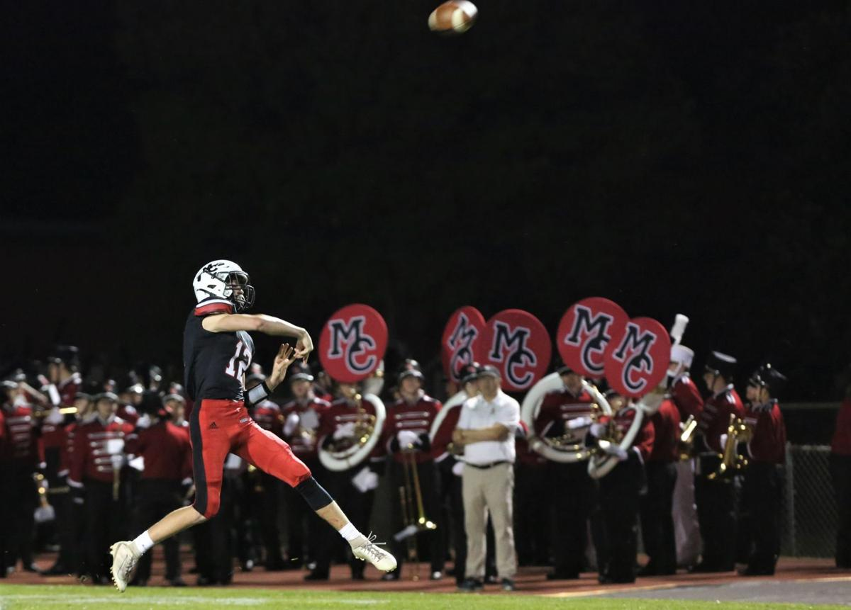 Mason City High School vs Charles City football - Hobart