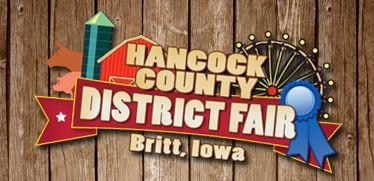 Hancock County District Fair logo