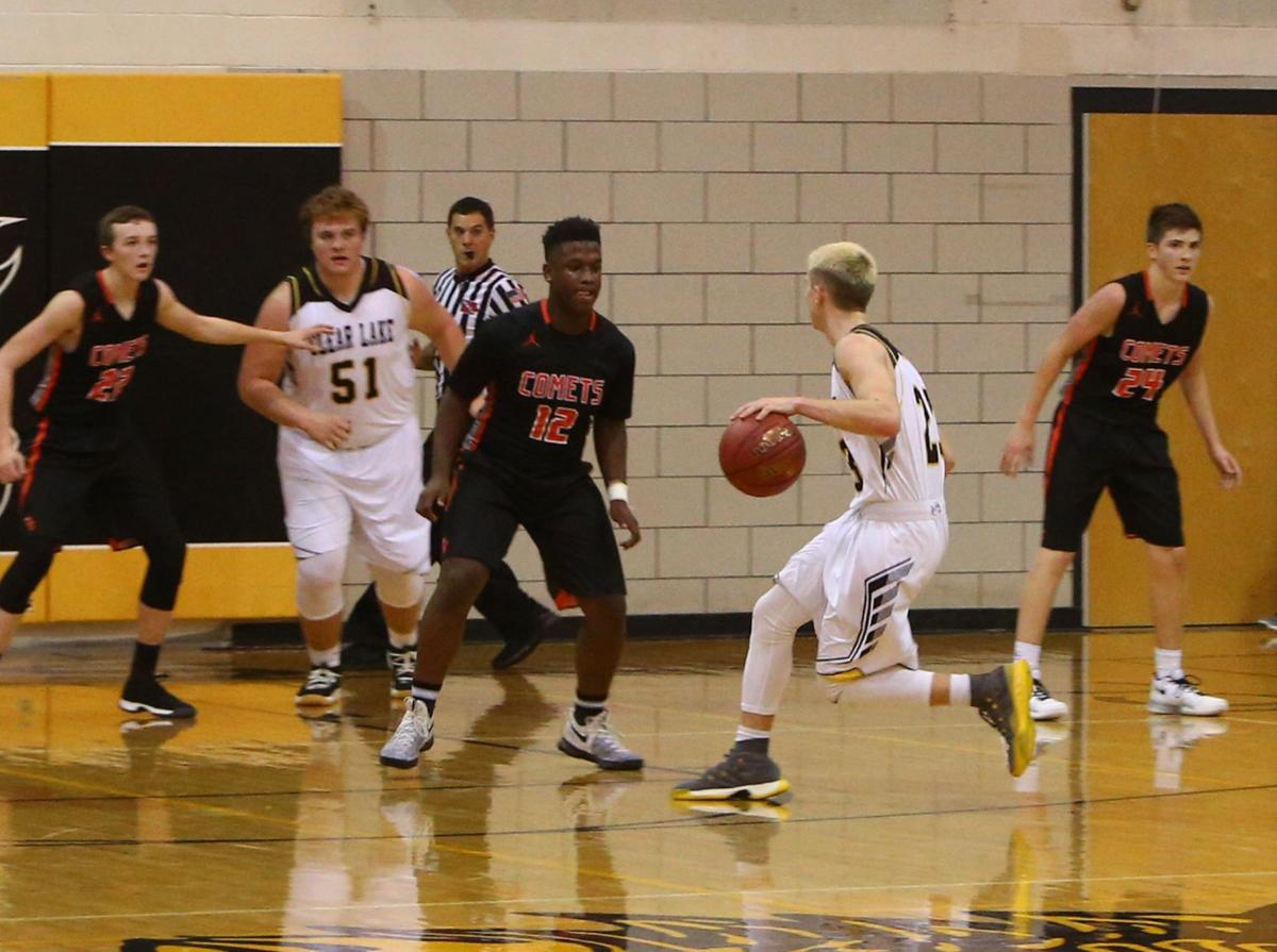 Clear Lake vs. Charles City boys basketball