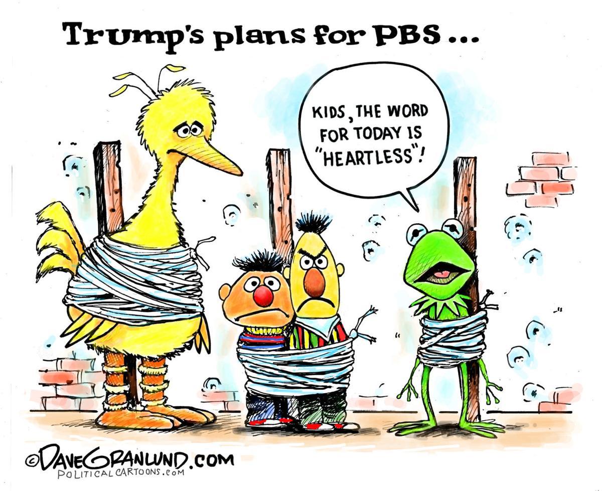Political Cartoons Pbs Trumpcare Geert Medicaid