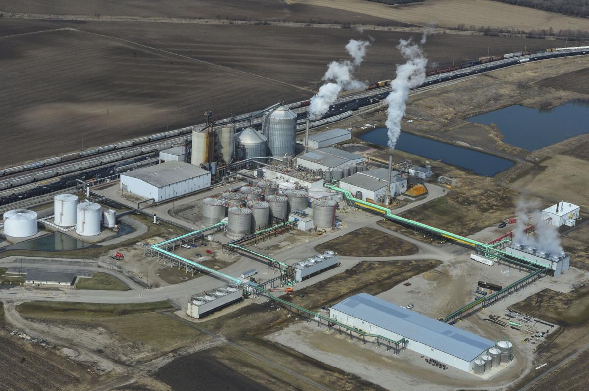 Aerials Mason City Golden Grain