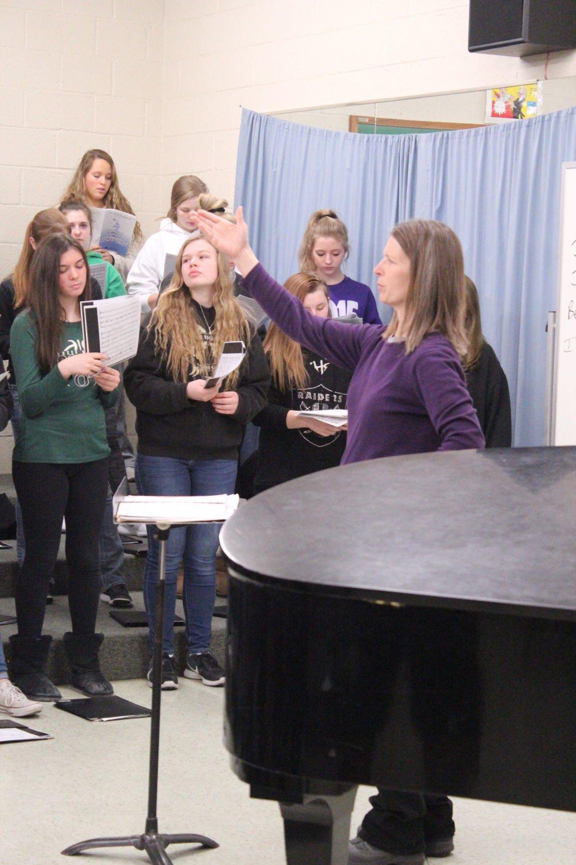 Osage High School Choir