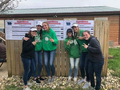 Osage girls golf team second at conference