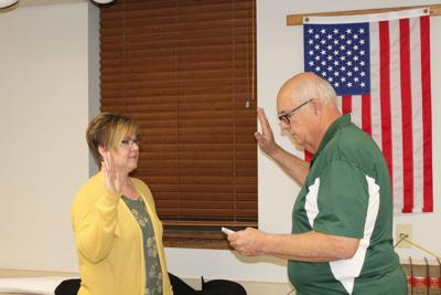 Darla Olson new city council member