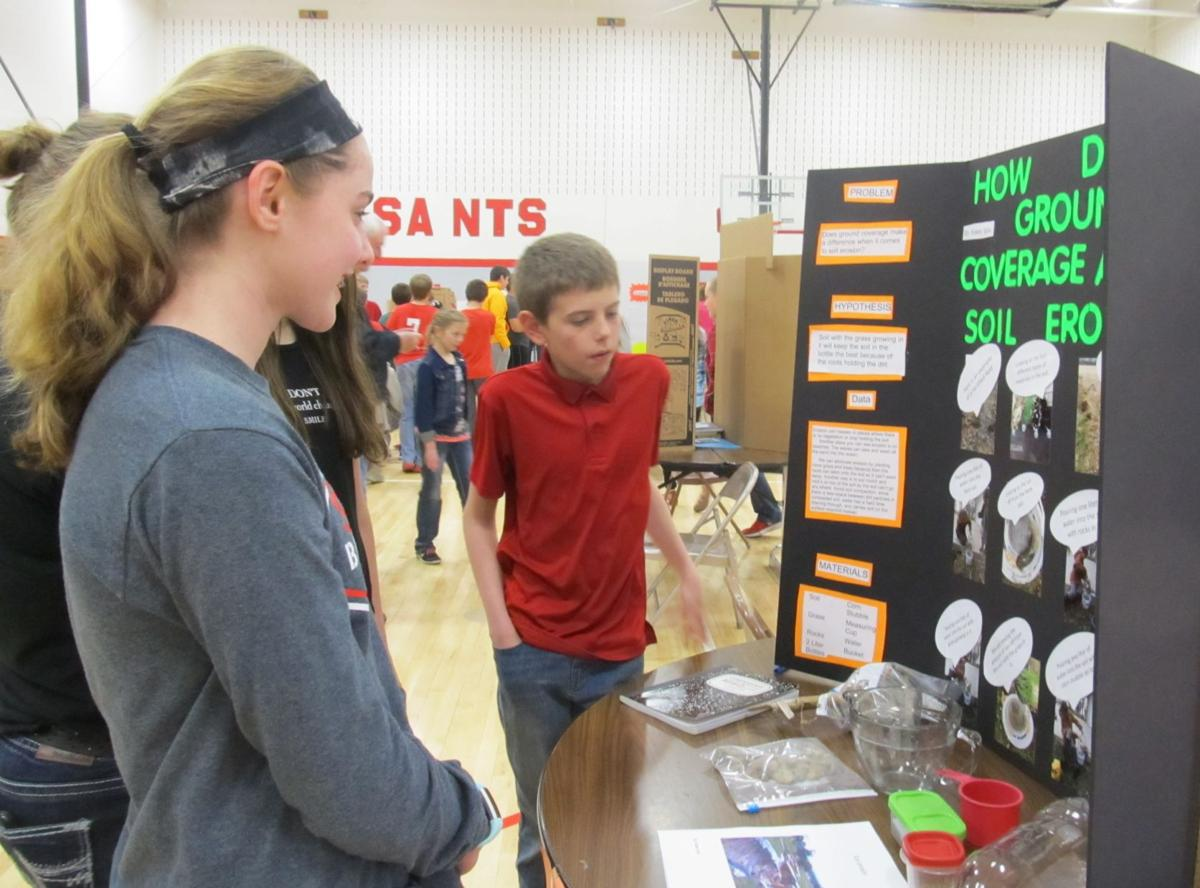 St Ansgar Middle School Students Hold Annual Science Fair