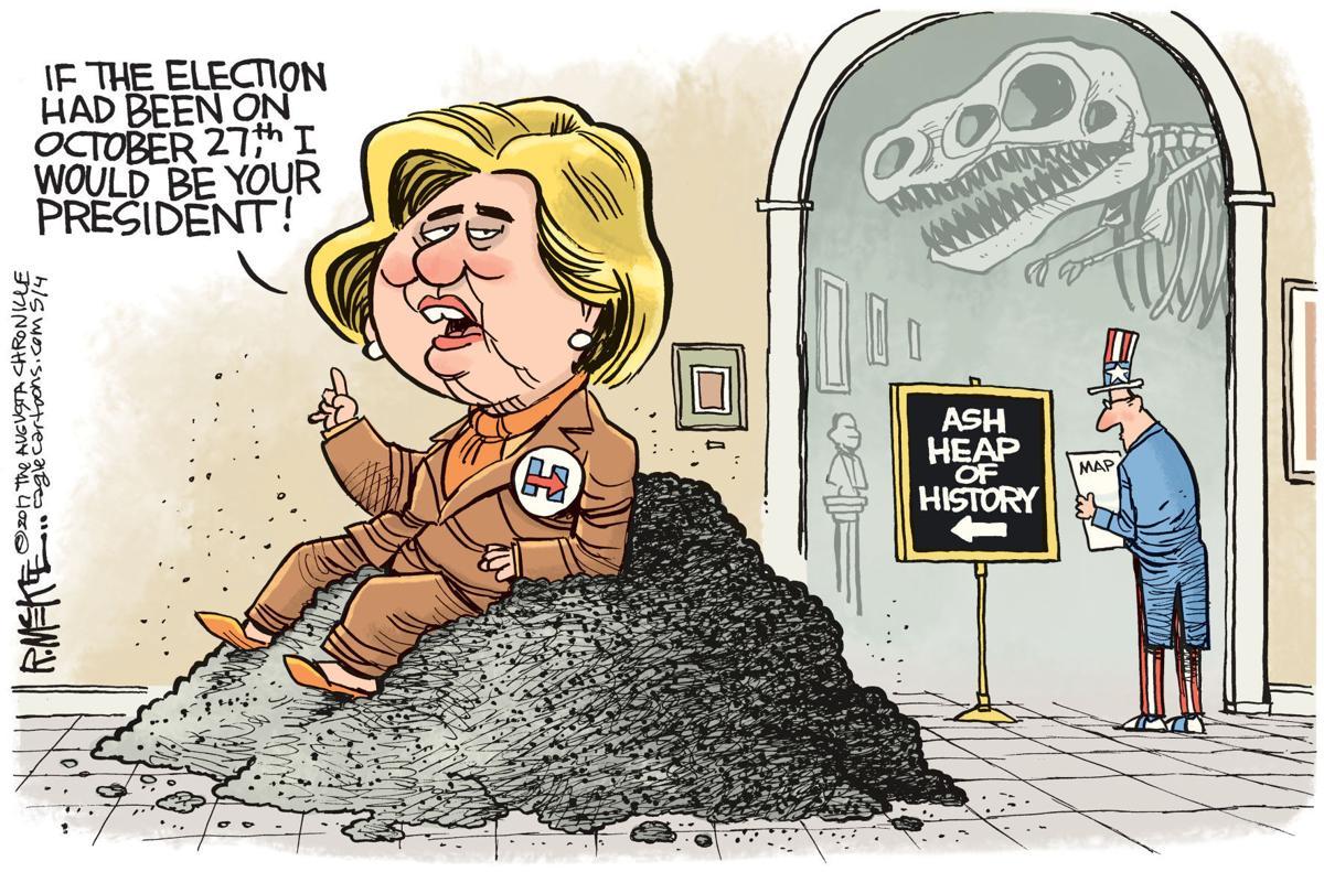 Political Cartoons Hillary Repeal Tax Cuts Baseball