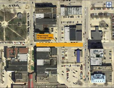 East State Street closure
