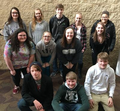 Osage Top of Iowa Conference Choir members