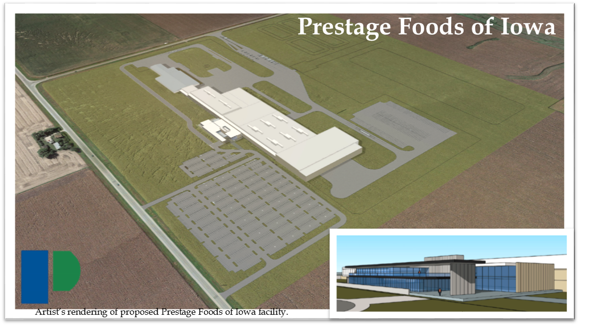 Prestage Foods Eagle Grove drawing