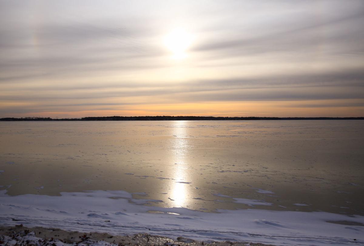 Clear Lake frozen