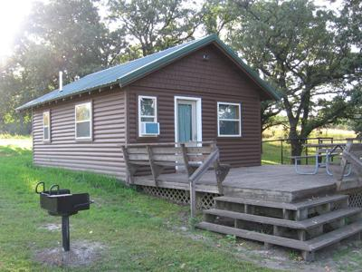 Lake Catherine cabin