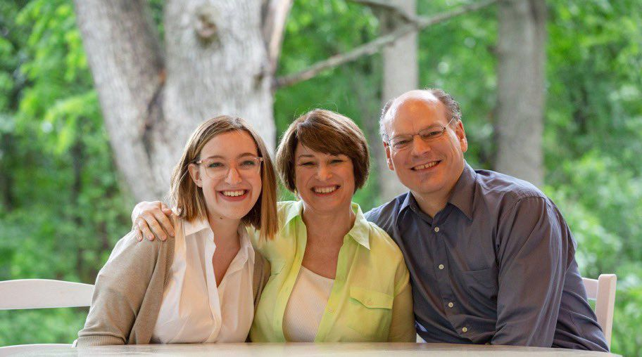 Amy Klobuchar family