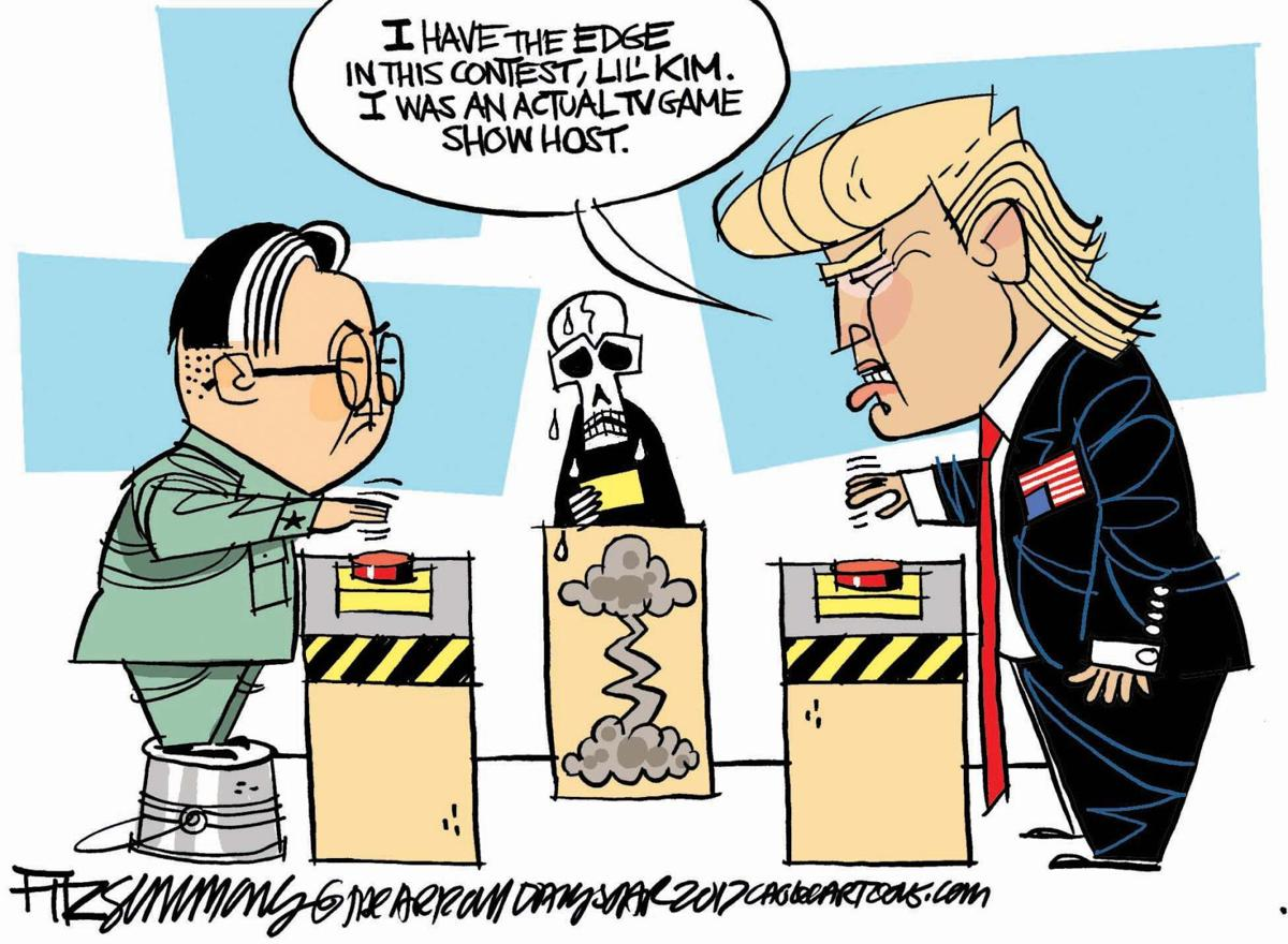 Image result for North Korea Summit CARTOON