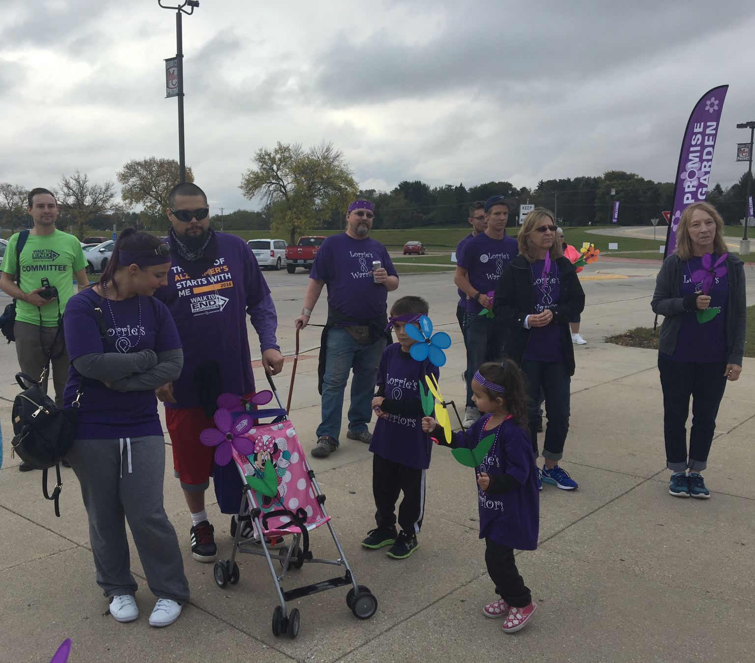 Alzheimer's walk looking for volunteers