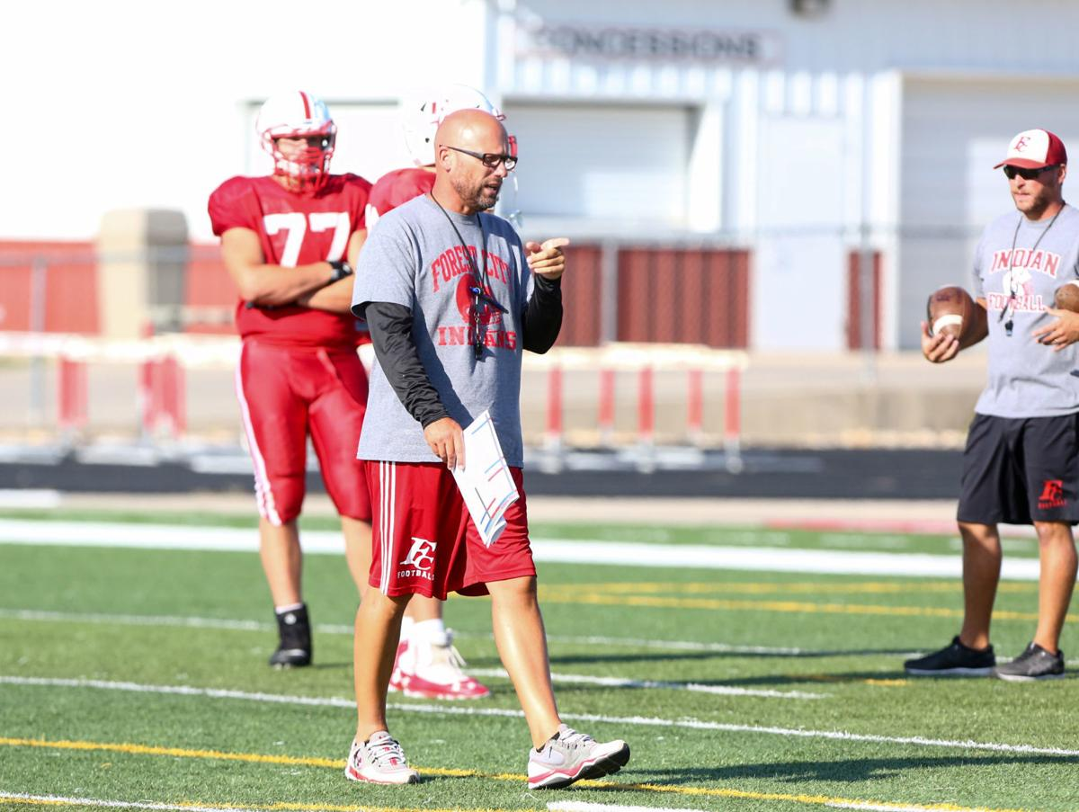 Forest City football practice 08-29-2019
