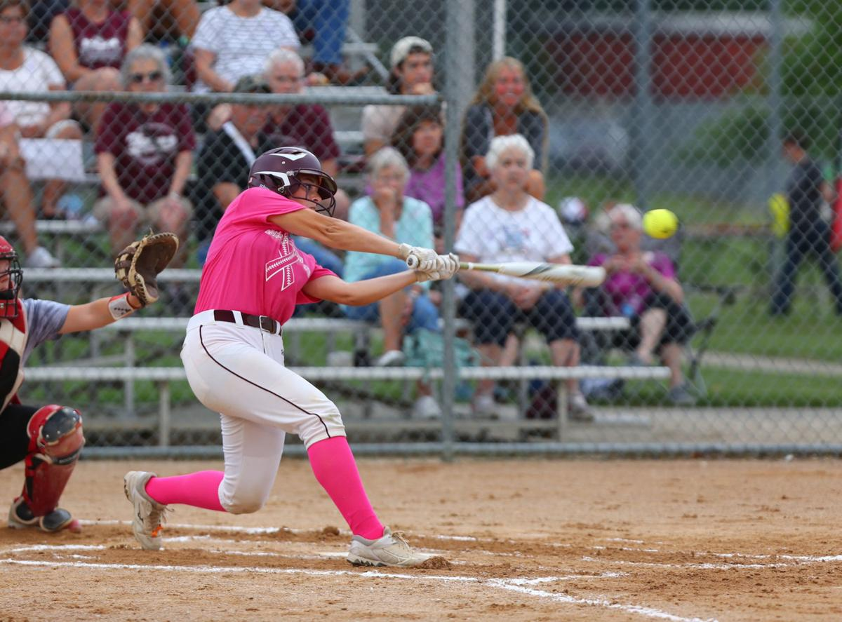 Mason City vs Newman softball, 07-02-2019