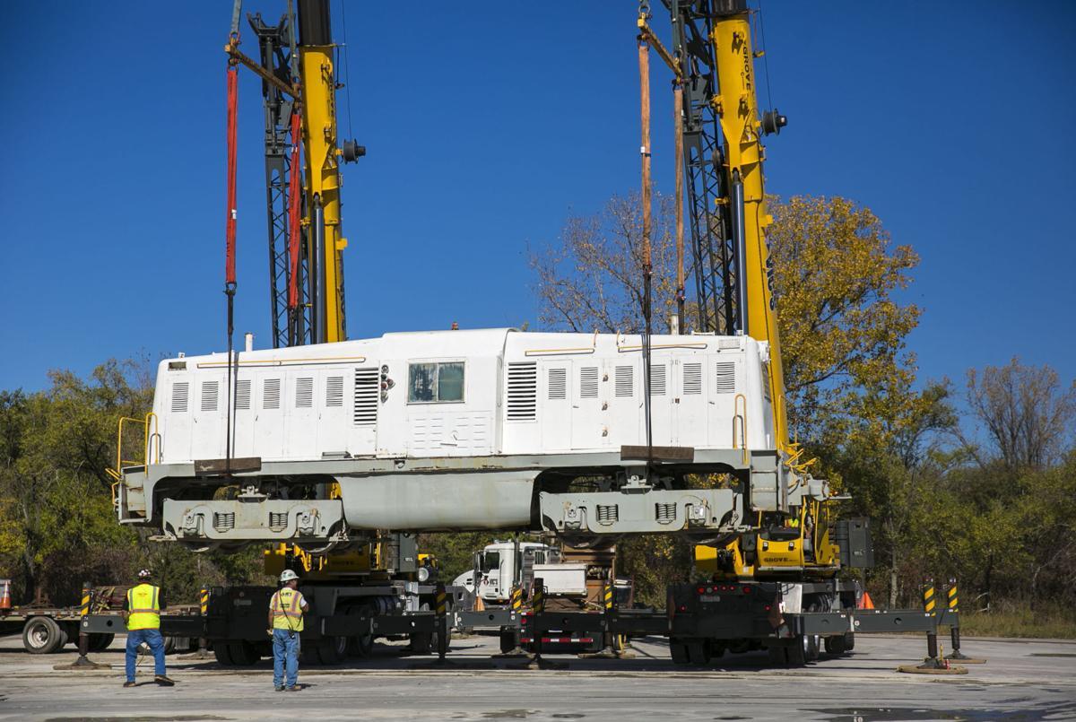 World War II locomotive headed to Netherlands from Mason