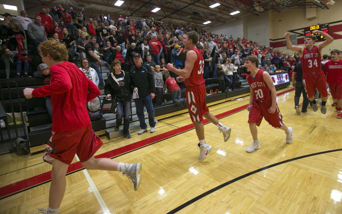 BBBall GHV vs. Forest City 2