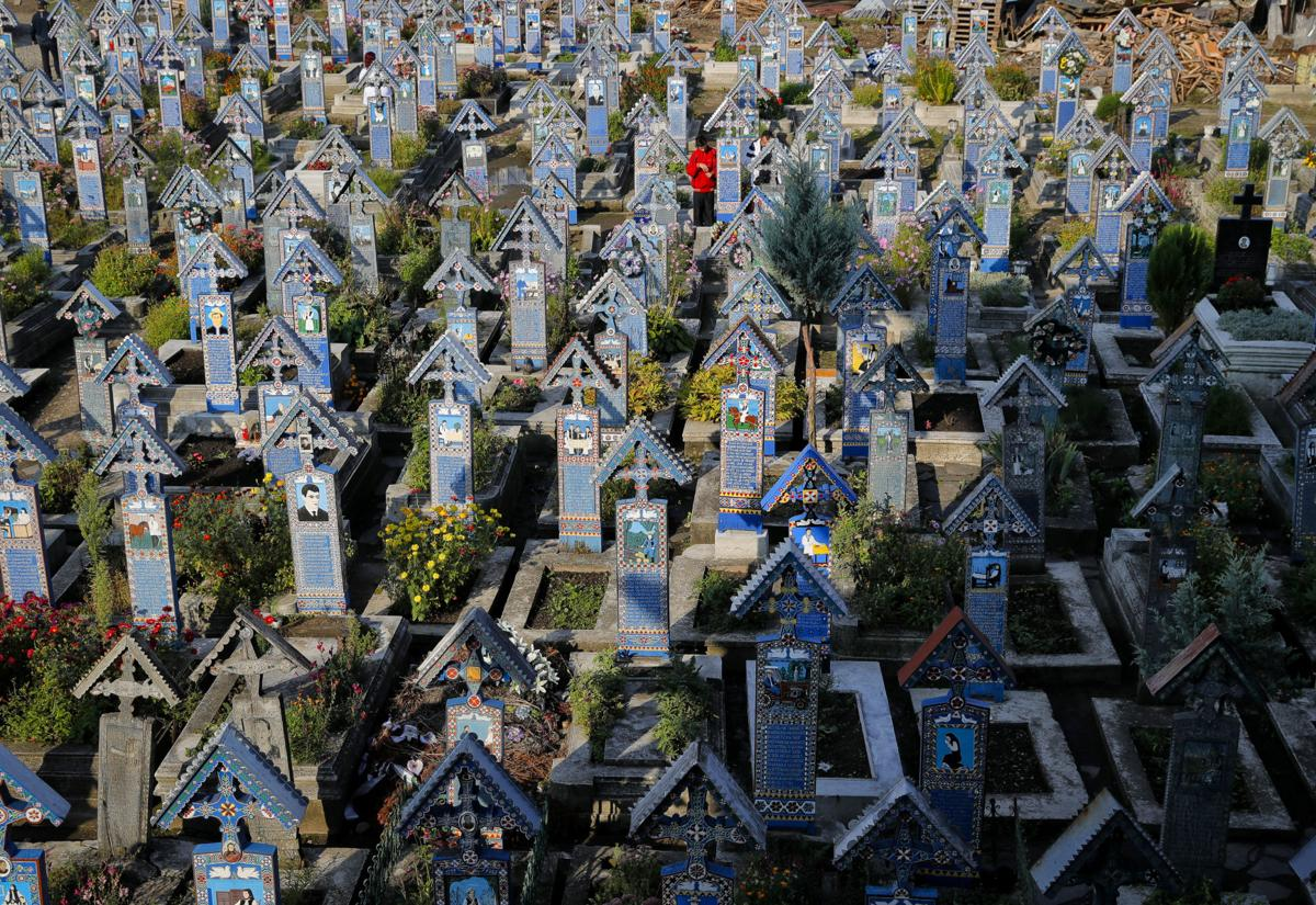 Romania Merry Cemetery