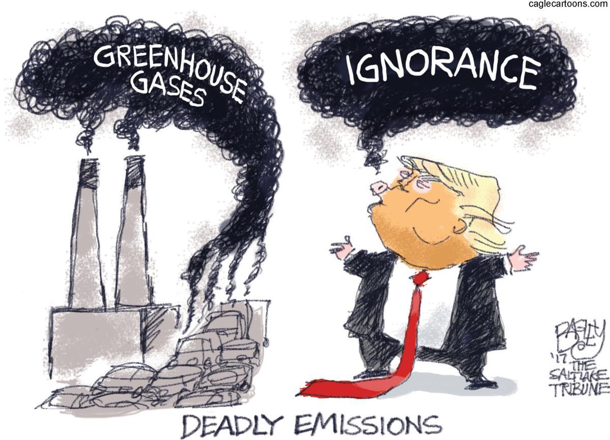 Gassy Trump by Pat Bagley, Salt Lake Tribune