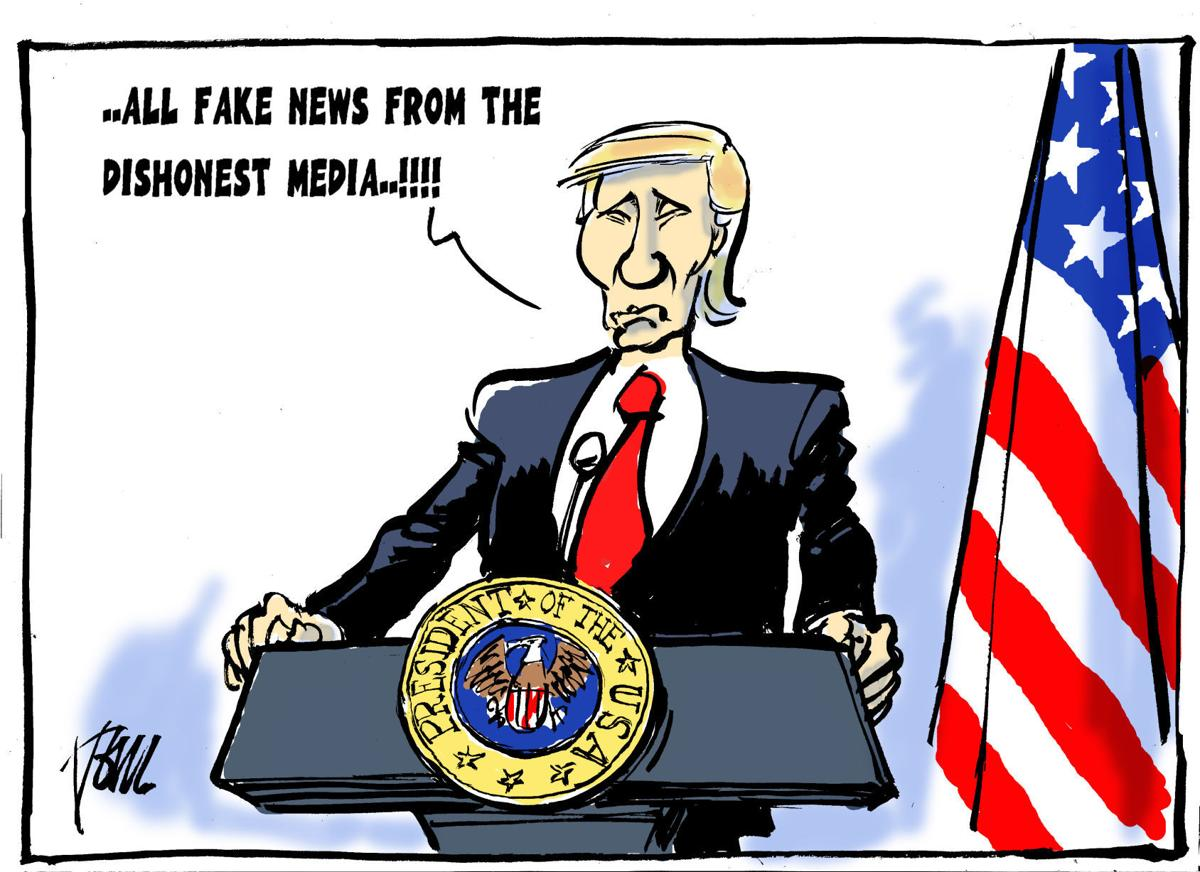 Political Cartoons Facts Fake News Flynn Immigration