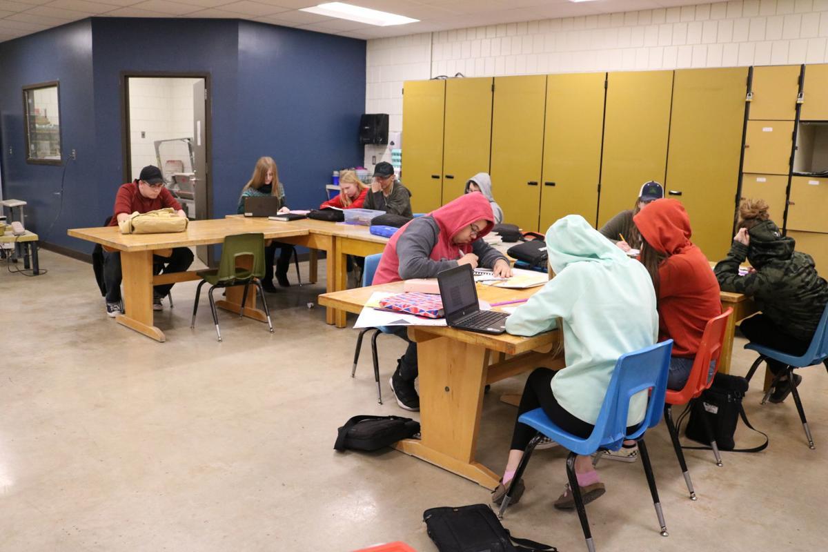 FCHS Hat Day class