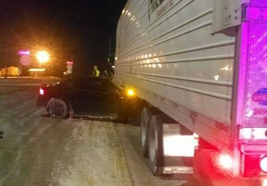 Floyd County accident Highway 18/218