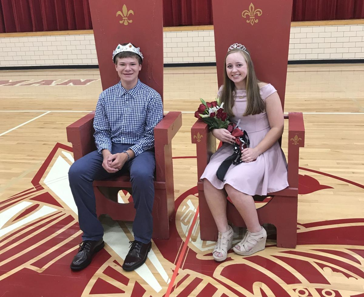 Newman homecoming king and queen 2018