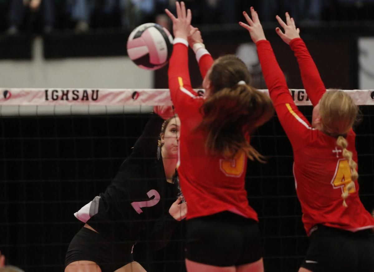 High School volleyball: Osage's Andie Olson recalls favorite