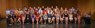 2019 Senior Awards Night scholarship recipients