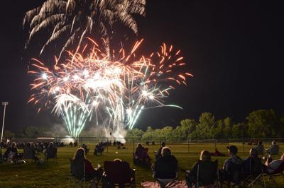 Mason City Fireworks 1